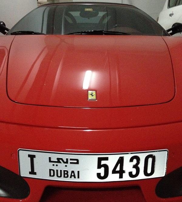 Paradox Voyages voiture de luxe Dubaï