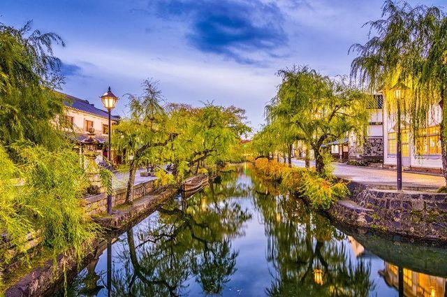 Canals of Kurashiki Japan